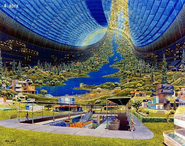 VCSE - Élet a tóruszszerű űrállomásban - Gesztesi Albert