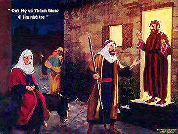 Đức Ma-ri-a Không Tìm Được Chỗ Trong Nhà Trọ Phải Không?