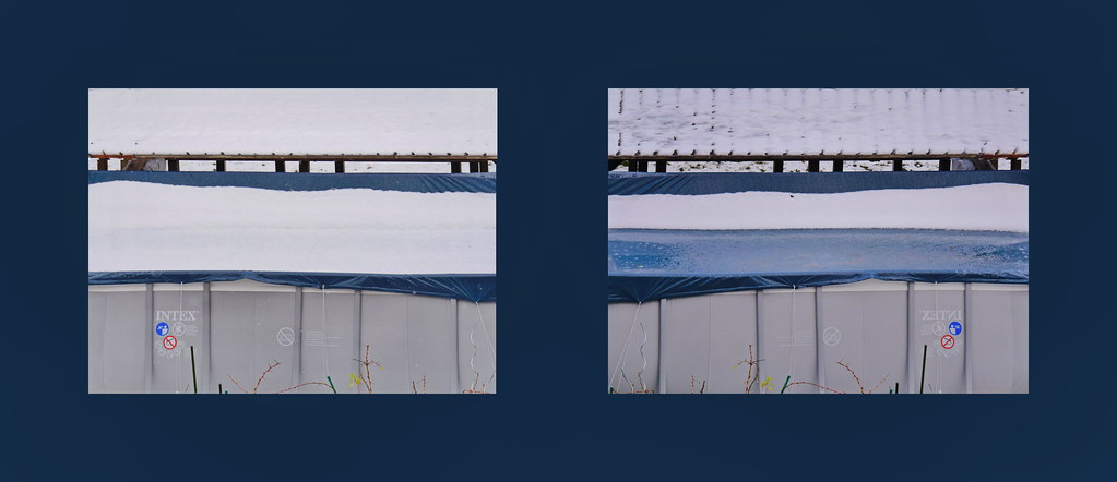 ... Find The Differences   The Swimming Pool In The Snow: 4.12.2017 Morning  /