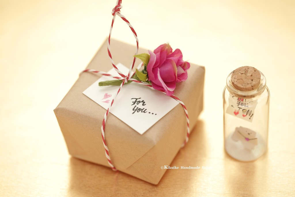 Sepcial Gift PackagesTiny Message In A BottlePersonalised GiftValentine