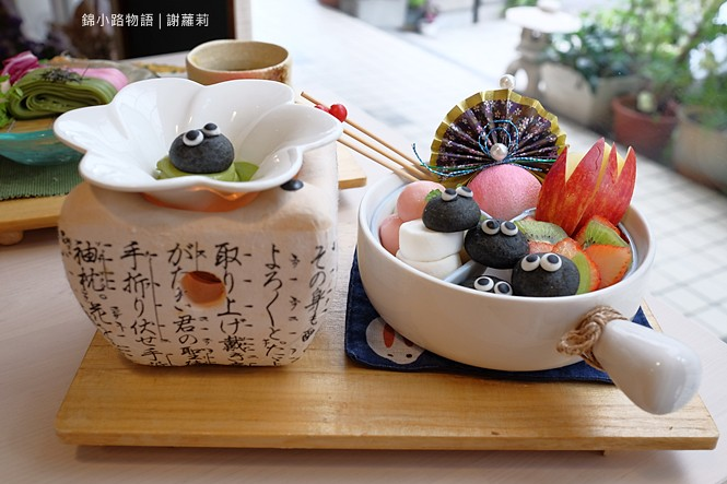 26652552519 068509b804 b - 錦小路物語 | 窩藏巷弄內的日本食堂,食尚玩家推薦 冬季限定的療癒系煤炭精靈甜點真的超可愛!