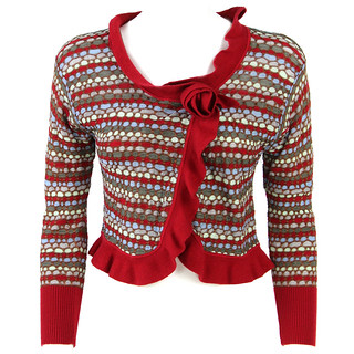 Sweater Missoni 1990s Red