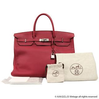 Birkin Hermès Vintage Rouge