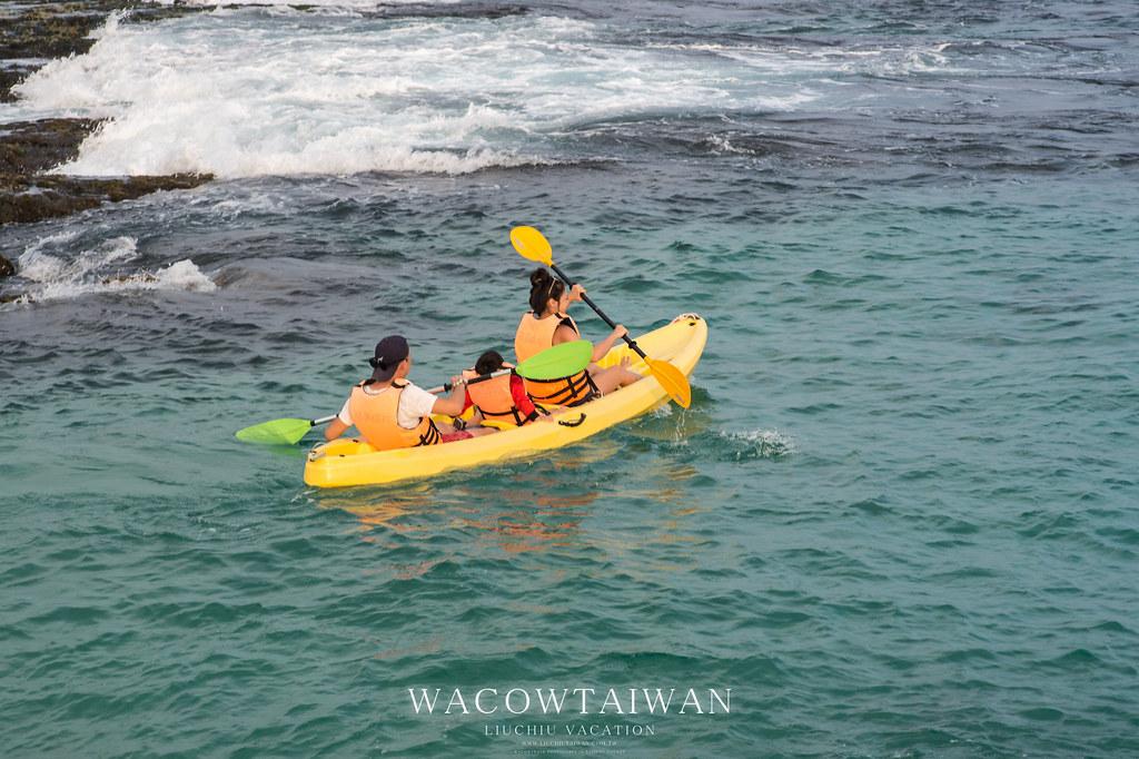 小琉球獨木舟體驗行程超好玩-哇靠小琉球民宿網