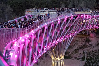 Diba Tensile Architecture - Tabiat Pedestrian Bridge - Photo 14 | by 準建築人手札網站 Forgemind ArchiMedia