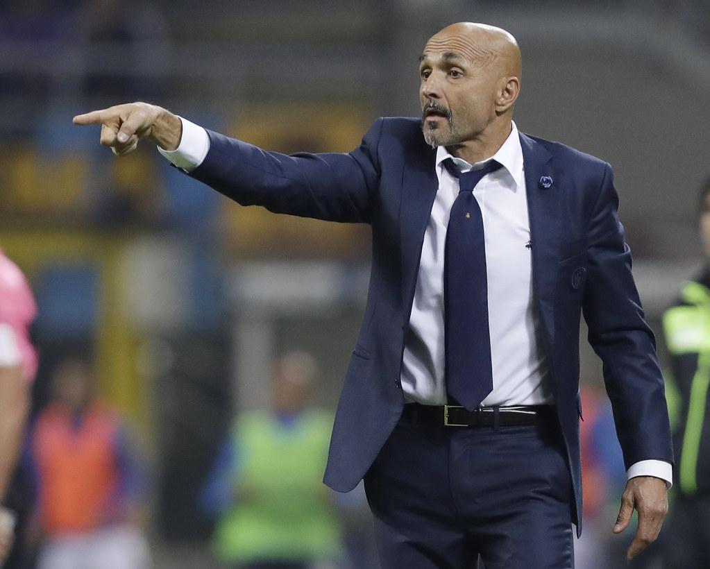國米教頭Luciano Spalletti對下半季有信心。(達志影像資料照)