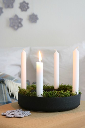 Adventskranz | by herz-allerliebst