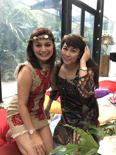 Citaten Annie Xxi : Annie c tan yee mylene abiva luau party women s