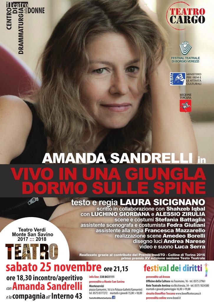 Amanda Sandrelli al Teatro Verdi