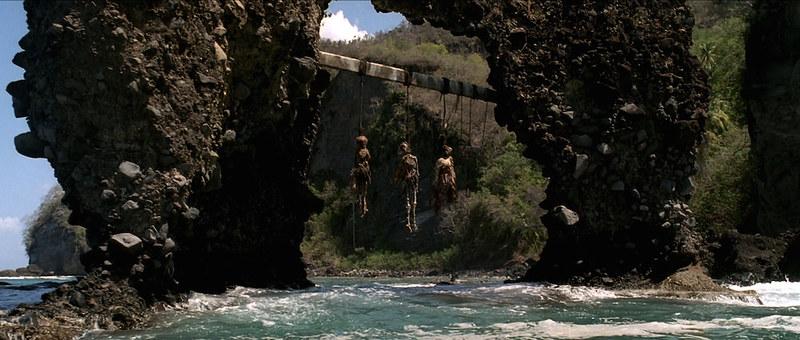 Arco de Piedra de San Vicente y las Granadinas que aparece en la primera parte de Piratas del Caribe