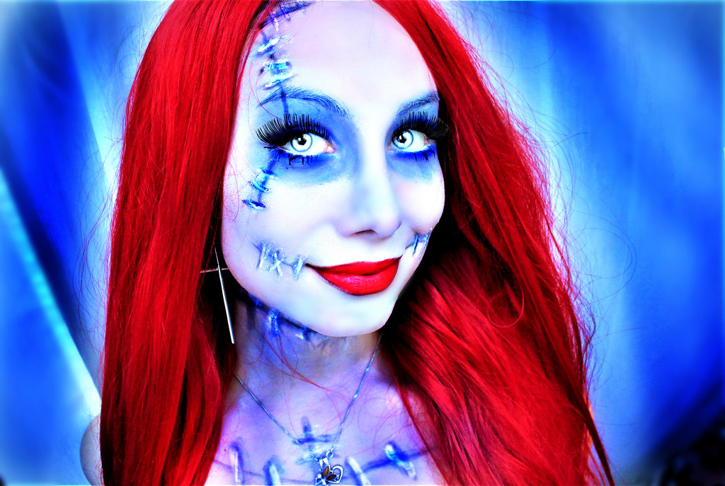 sally nightmare before christmas cosplay by sarina rose by sarina rose - Sally Nightmare Before Christmas Wig