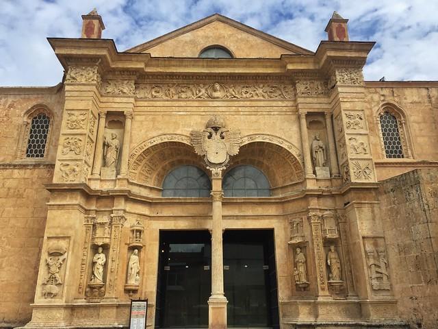 Fachada plateresca de la catedral de Santo Domingo, primada de América