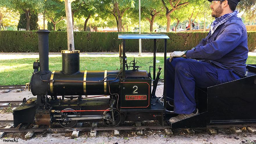 tren locomotora de Burjassot