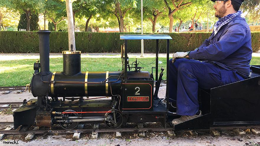 tren locomotora Burjassot La Granja