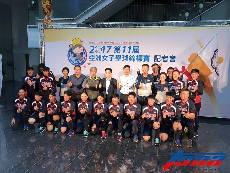 台灣女壘計畫3月底飛往日本訓練。(資料照,鍾亞芳/攝)
