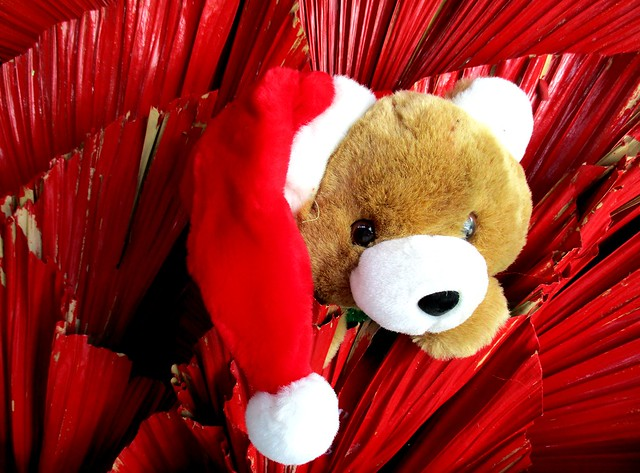 Payung Cafe Santa teddy