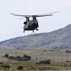 InShield DIRCM Chinook Vuelo - Foto Indra