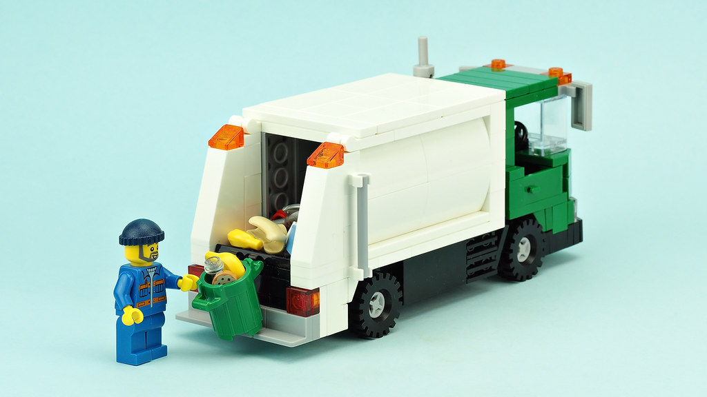 Garbage Truck Building Instructions Youtube De Marco Flickr