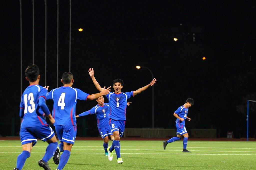 U19台灣男足踢進亞錦賽會內賽。(足協提供)