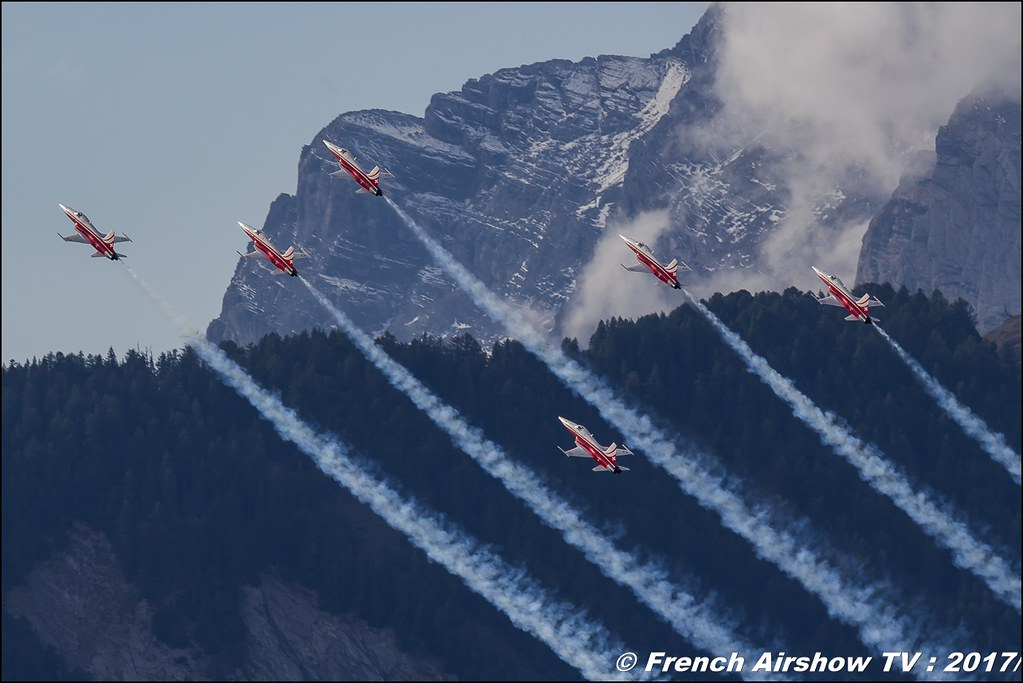Patrouille Suisse ,Breitling Sion Airshow 2017