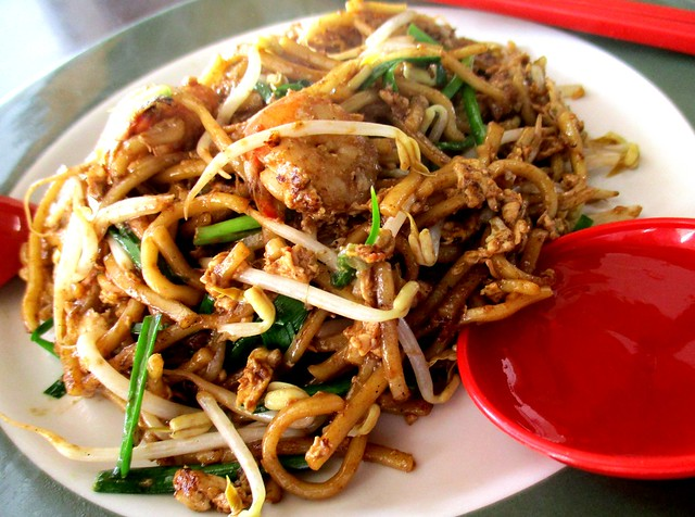Colourful Cafe fried mee 1