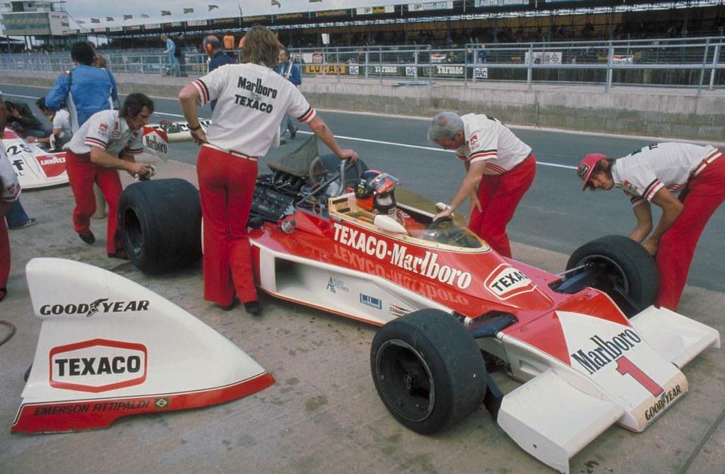 Fittipaldi, G.P. de Inglaterra, 1975