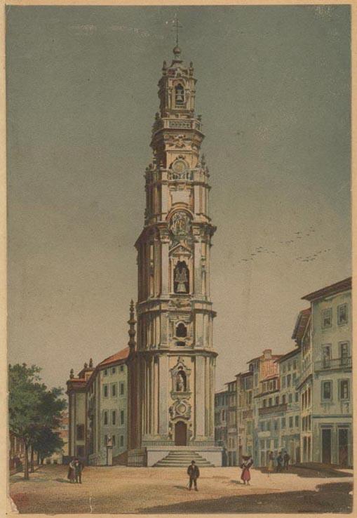 Torre dos Clérigos, Porto (E.Casanova, c. 1890)