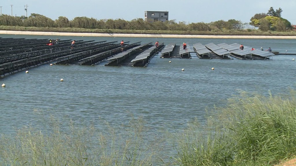 931-3-11017年4月,桃園設置全台首座浮座式光電埤塘。