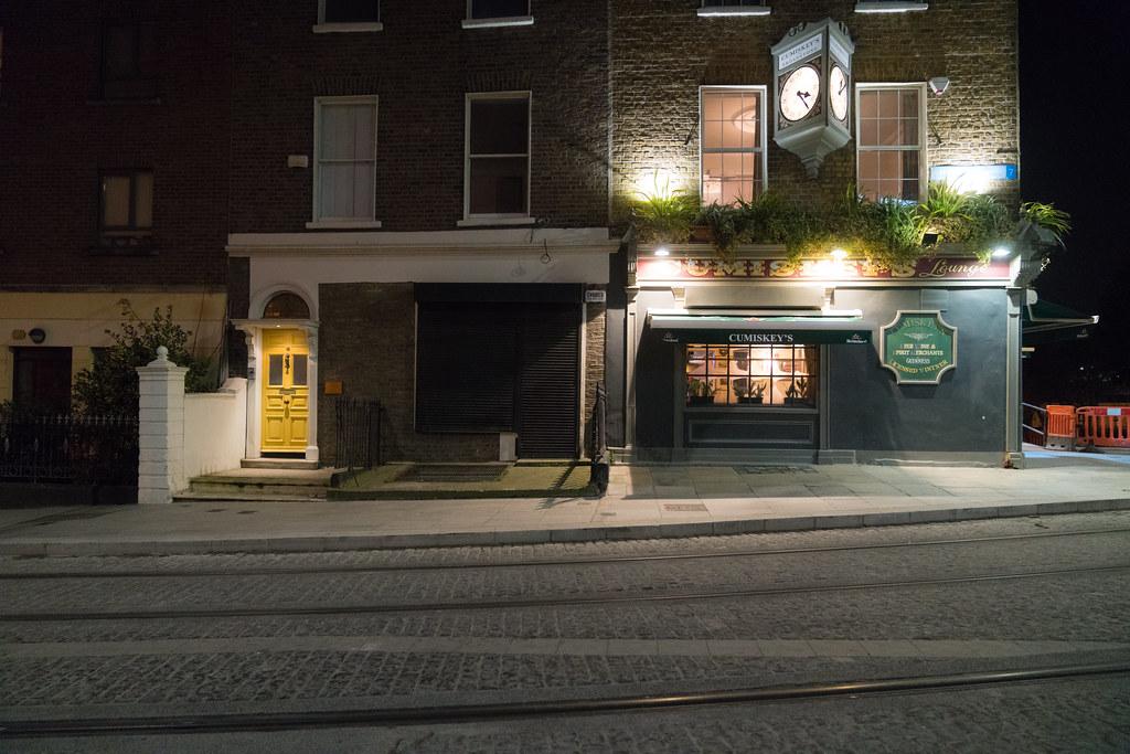 CUMISKEY'S PUB ON DOMINICK STREET IN DUBLIN 002