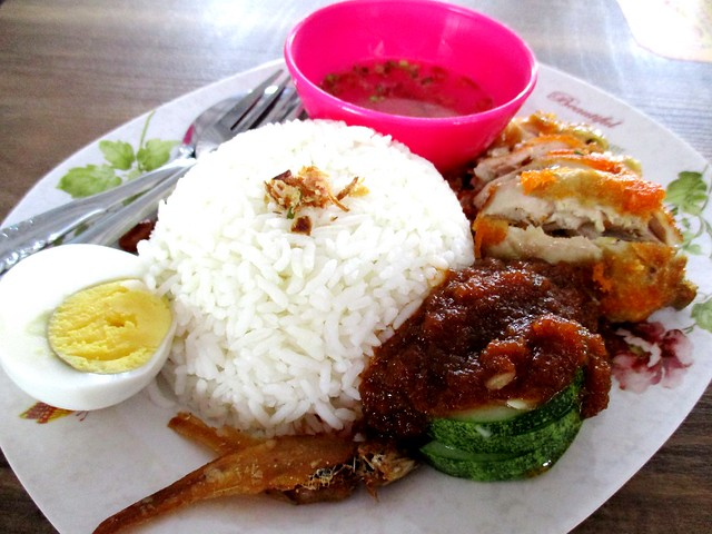 Grand Wonderful food court nasi lemak special 1