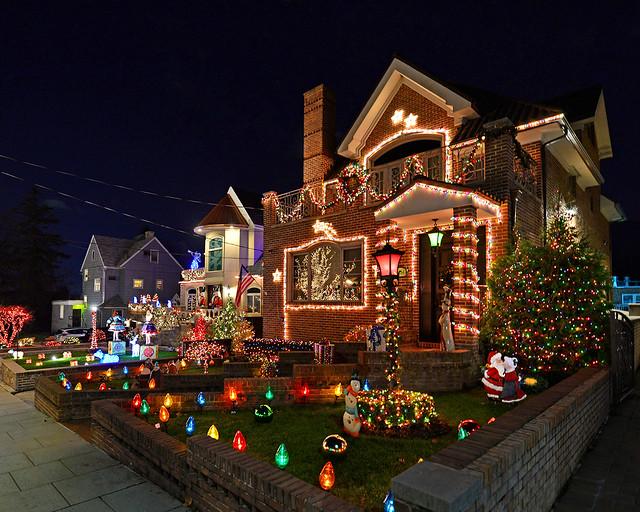 Casas iluminadas de Dyker Heights