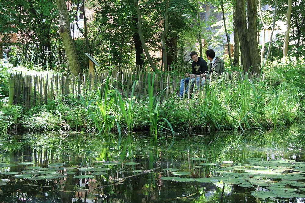 Le Jardin Naturel A Paris 75 Credits C Legenne Iau Id Flickr
