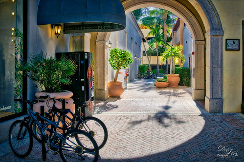 Image of City Block in Palm Beach, Florida