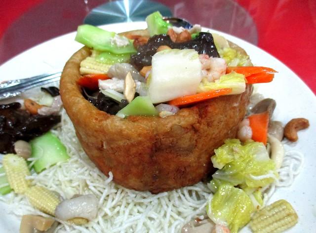 New Dragon yam basket mixed vegetables