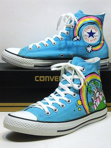 Rainbow Bunny - Heritage Blue & Multi Hi 118647F | by hadley78