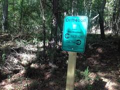Driftwood Marker