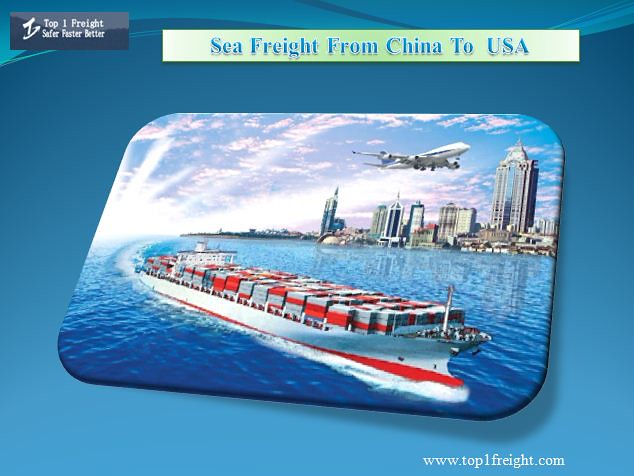 Sea Freight From China To Usa | If you want to transport you