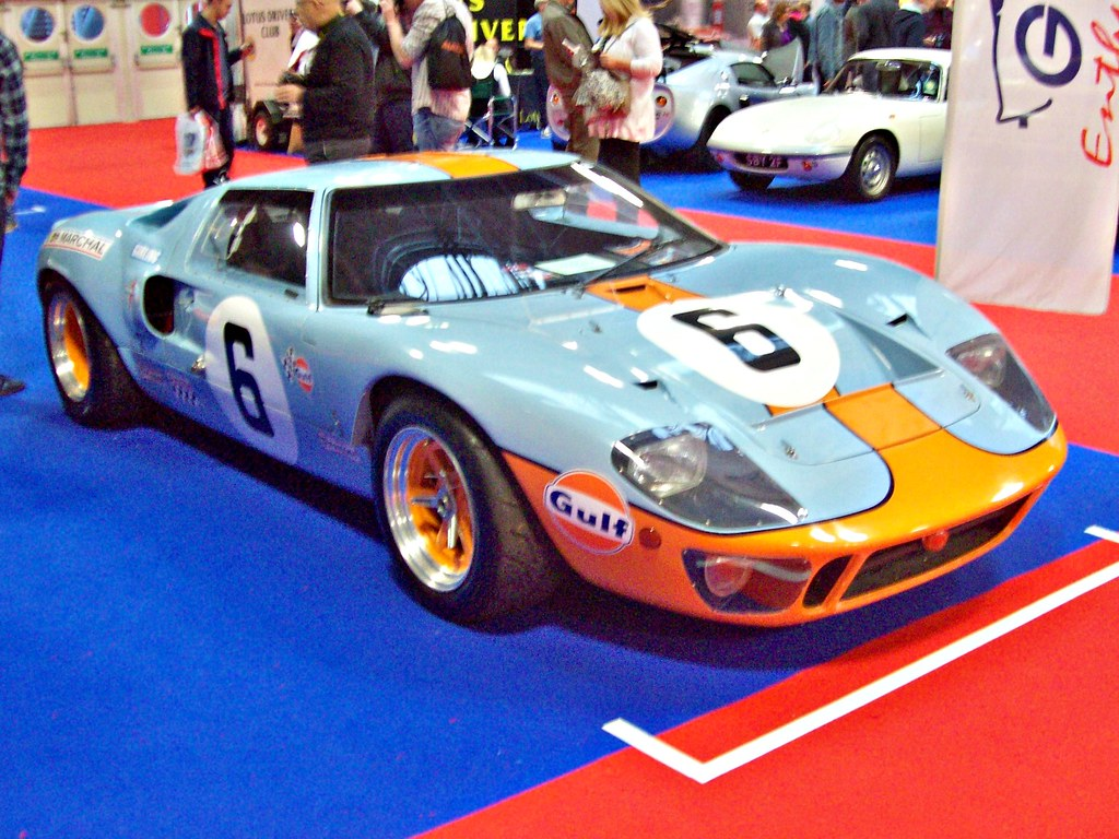 Ford Gt Replica By Robertknight