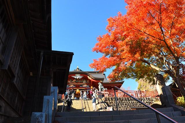 御岳神社の紅葉