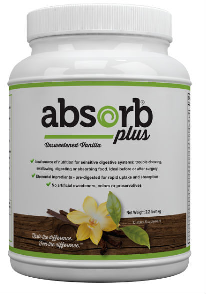 Absorb Plus Unsweet Vanilla