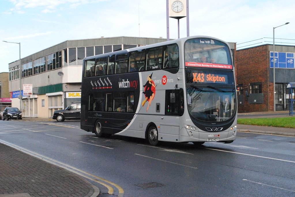 Transdev Burnley Bus Company 2777 Bf63hcy Volvo B9tl