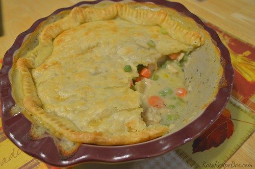 TurkeyPotPie | by katesrecipebox