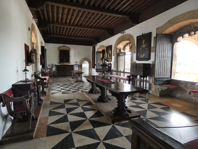 Salón principal del Alcázar de Colón en Santo Domingo (República Dominicana)