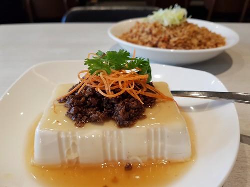 Heartwarming Tofu Cloud and XO Rice