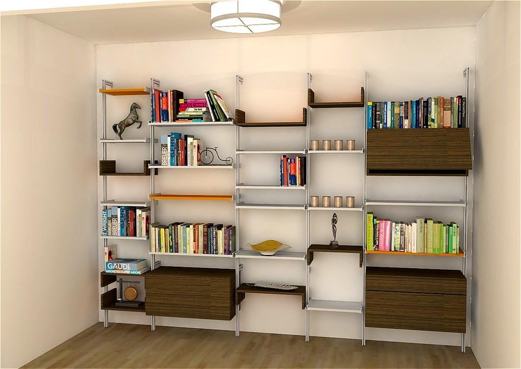 NYC Ecclectic Bookshelf