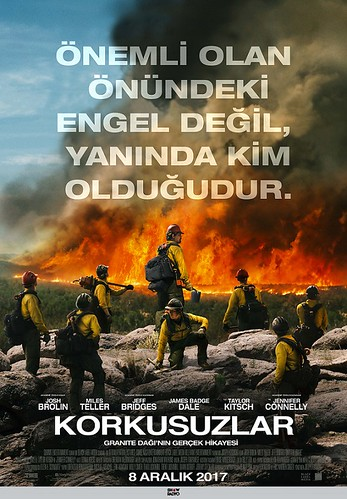 Korkusuzlar - Only The Brave (2017)