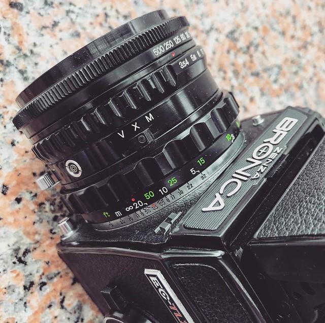 Bronica 105mm f3.5 鏡間快門的碧浪