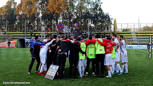Racing Fondi-Catania 1-3: regalo di Natale firmato Fornito, Curiale e Ripa