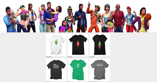 The Sims Ganha uma Loja Oficial de Produtos!