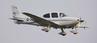 Cirrus SR22 G-TAAB Lee on Solent Airfield 2017 | by SupaSmokey
